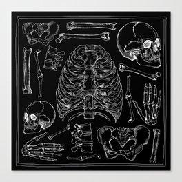 Bones Leinwanddruck