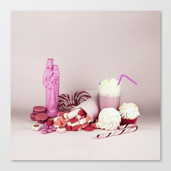 Sweet pink doom - still life Canvas Print