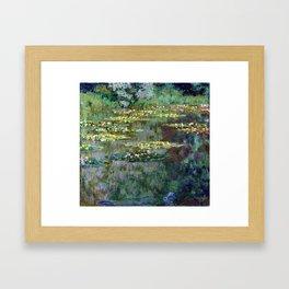 Claude Monet Le Bassin des Nympheas Framed Art Print