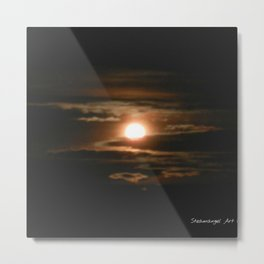 Light Shining Through The Darkness Metal Print