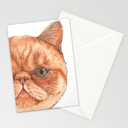 Betty aka The Snappy Cat- artist Ellie Hoult Stationery Cards