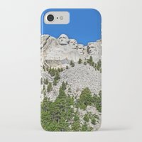 rushmore iPhone & iPod Cases featuring Mount Rushmore by astultz23