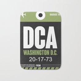 DCA Washington Luggage Tag 2 Bath Mat