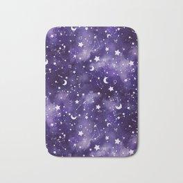 Zodiac Watercolor Ultraviolet Bath Mat