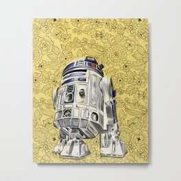 R2D2 from StarWars Metal Print