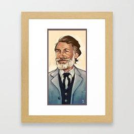 King Shultz Framed Art Print