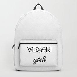 Vegan Girl Backpack