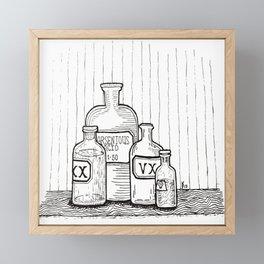 Poison Framed Mini Art Print
