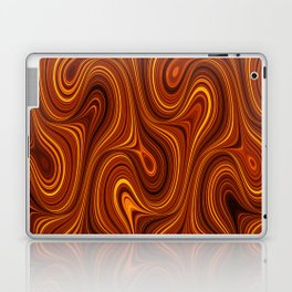 Amber Lava 11 Hi Res Laptop & iPad Skin