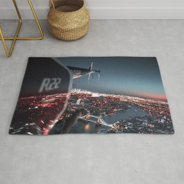 helicopter in london Rug