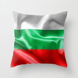 Bulgaria Flag Throw Pillow