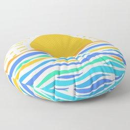 Morning Dawn  Floor Pillow