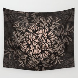 Pine Cones Pattern I Wall Tapestry