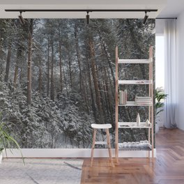 Winter in the wildwood. Wall Mural