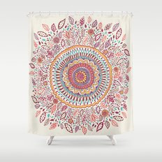 Sunflower Mandala Shower Curtain