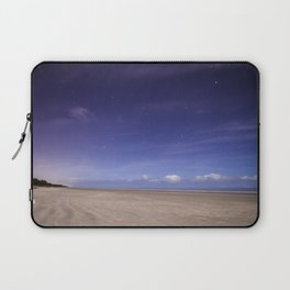 Painted Beach Sky Laptop Sleeve