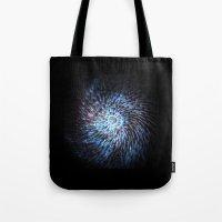 big bang Tote Bags featuring Big bang by ochre7