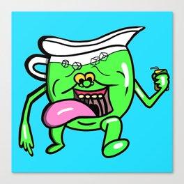 Ecto Kool-Aid Man Canvas Print