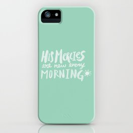 Mercy Morning x Mint iPhone Case
