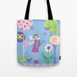 Fairy in the Garden Tote Bag