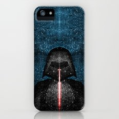Darth Vader with Lightsaber in Galaxy Slim Case iPhone (5, 5s)