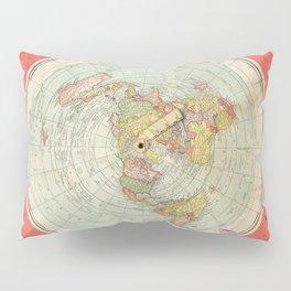 Flat Earth Pillow Sham