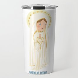 Virgin of Fatima Travel Mug