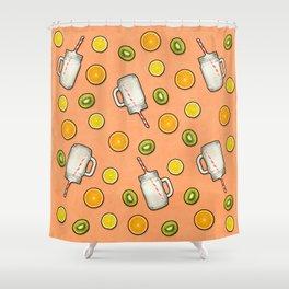 Summer fruit #society6 Shower Curtain
