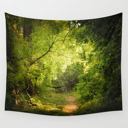 The Secret Path Wall Tapestry