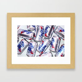 Pabst Blue Ribbon Framed Art Print
