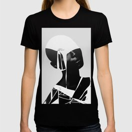 abstract portrait T-shirt