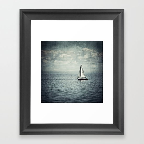 Pleasure Boat Framed Art Print