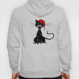 Evil Christmas Cat Hoody
