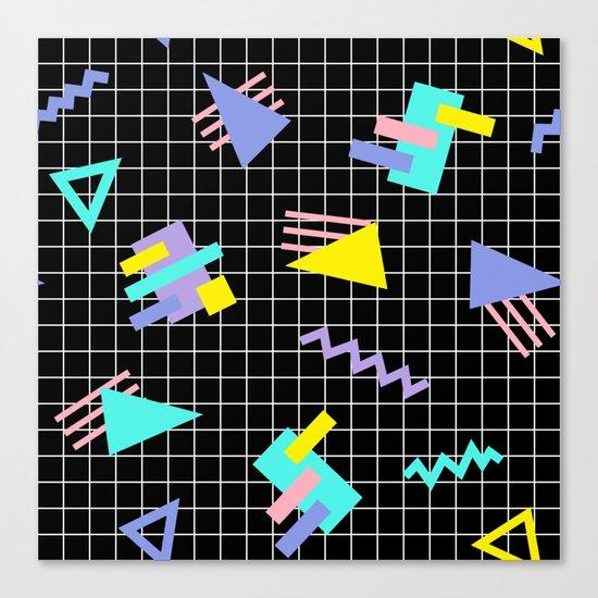 Memphis pattern 7 Canvas Print