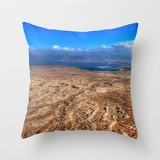 The Dead Sea Series #2  Throw Pillow