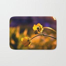A Wild Flower Sunset Bath Mat