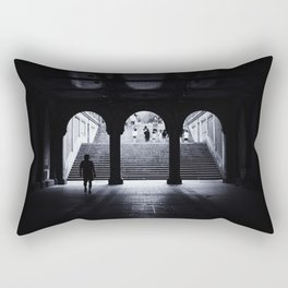 From Dark to Light Rectangular Pillow