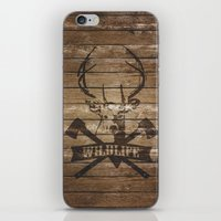 wildlife iPhone & iPod Skins featuring wildlife by Victor Anaya