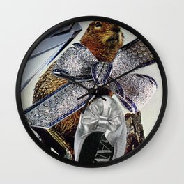 Gopher or Ground Squirrel Wall Clock