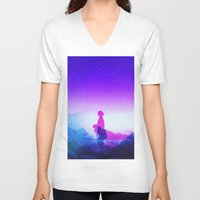 tolkien V-neck T-shirts featuring Wonder Never Cease by Stoian Hitrov - Sto