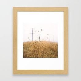 Station Street, Belleville, Ontario | Art-print, Wall-art, Film-photography Framed Art Print