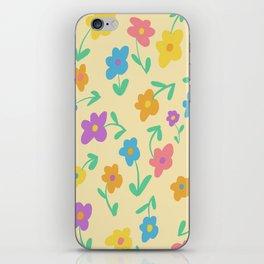 Floating Daisies (Cream) iPhone Skin