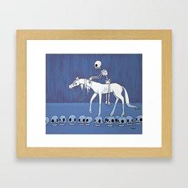 The Follower Framed Art Print