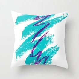 Jazz cup Throw Pillow
