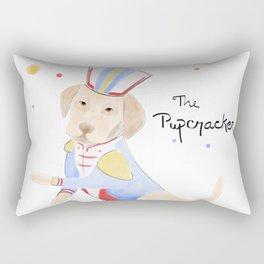 The Pupcracker Rectangular Pillow