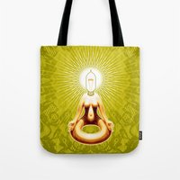 ohm Tote Bags featuring OHM by Fulvio Bisca