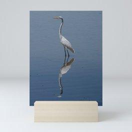 White Egret  Mini Art Print