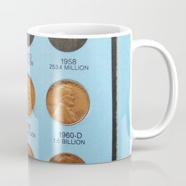 Pennies for Your Thoughts Coffee Mug