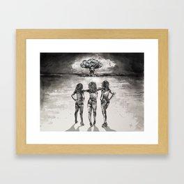 Good Luck 'Merica Framed Art Print