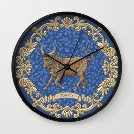 Vintage Astrology - Taurus Wall Clock